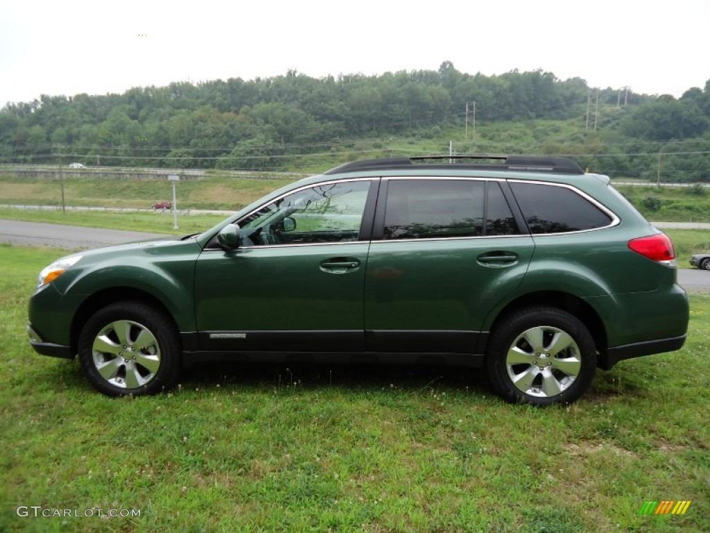 2011 cypress green pearl subaru outback 25i premium wagon 2011 outback 25i premium wagon cypress green pearl warm ivory photo 6 vanachro Gallery