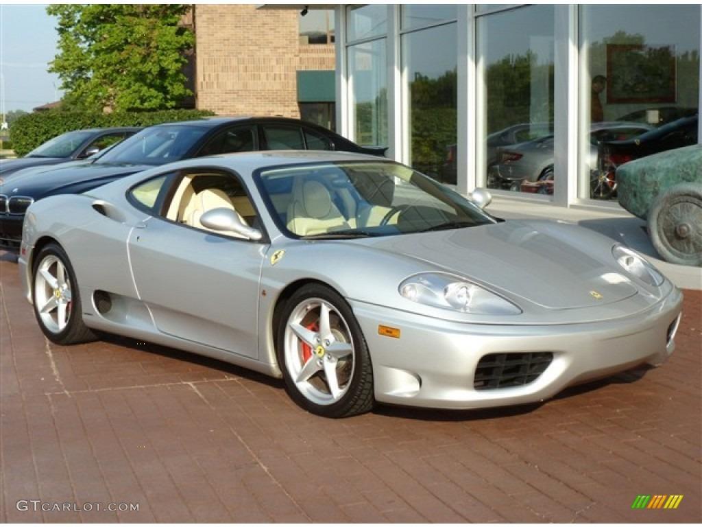 Silver 2002 Ferrari 360 Modena F1 Exterior Photo 52439302