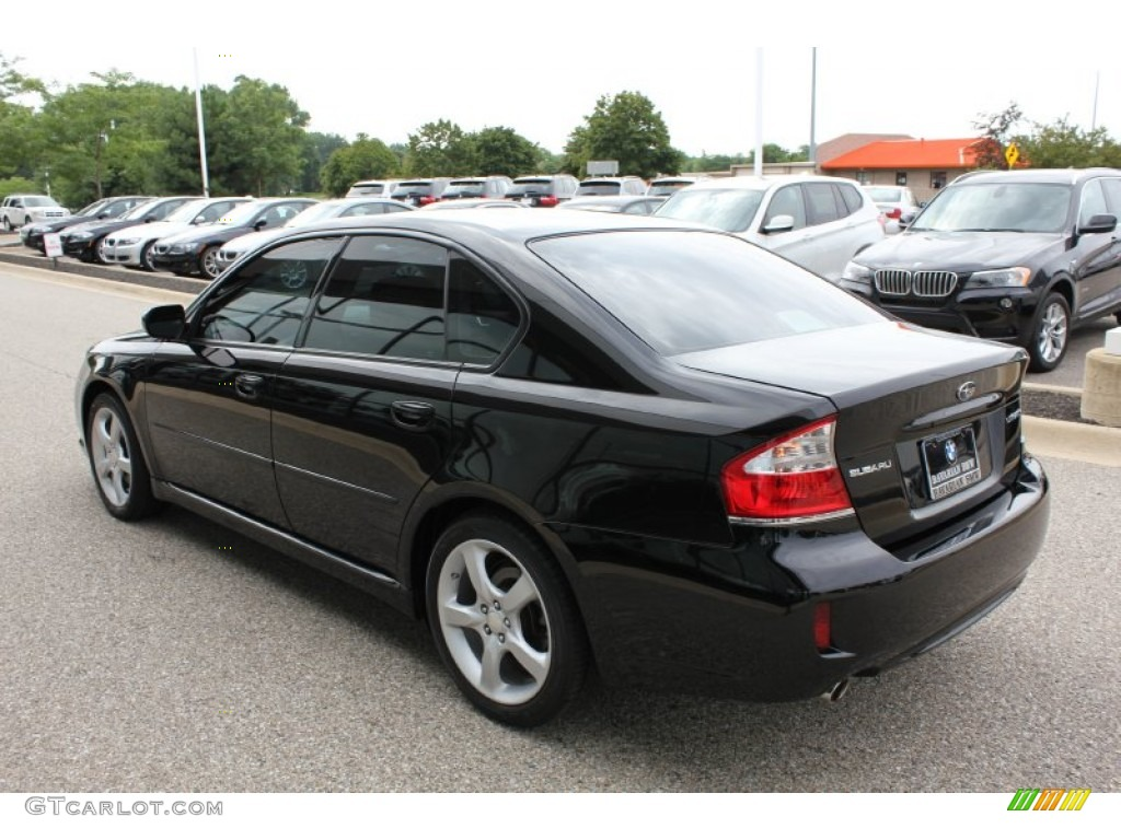 2008 obsidian black pearl subaru legacy sedan. Black Bedroom Furniture Sets. Home Design Ideas