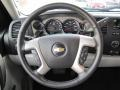 Light Titanium/Ebony Steering Wheel Photo for 2011 Chevrolet Silverado 1500 #52448881