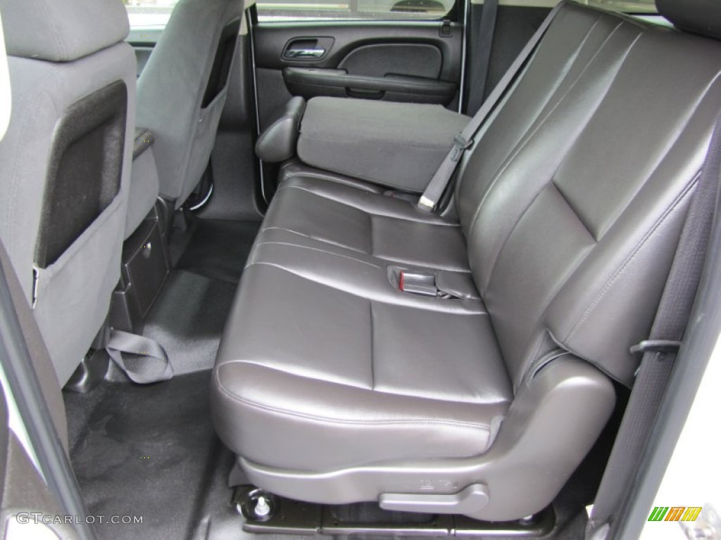 Ebony Interior 2009 Chevrolet Suburban Ls 4x4 Photo 52449469