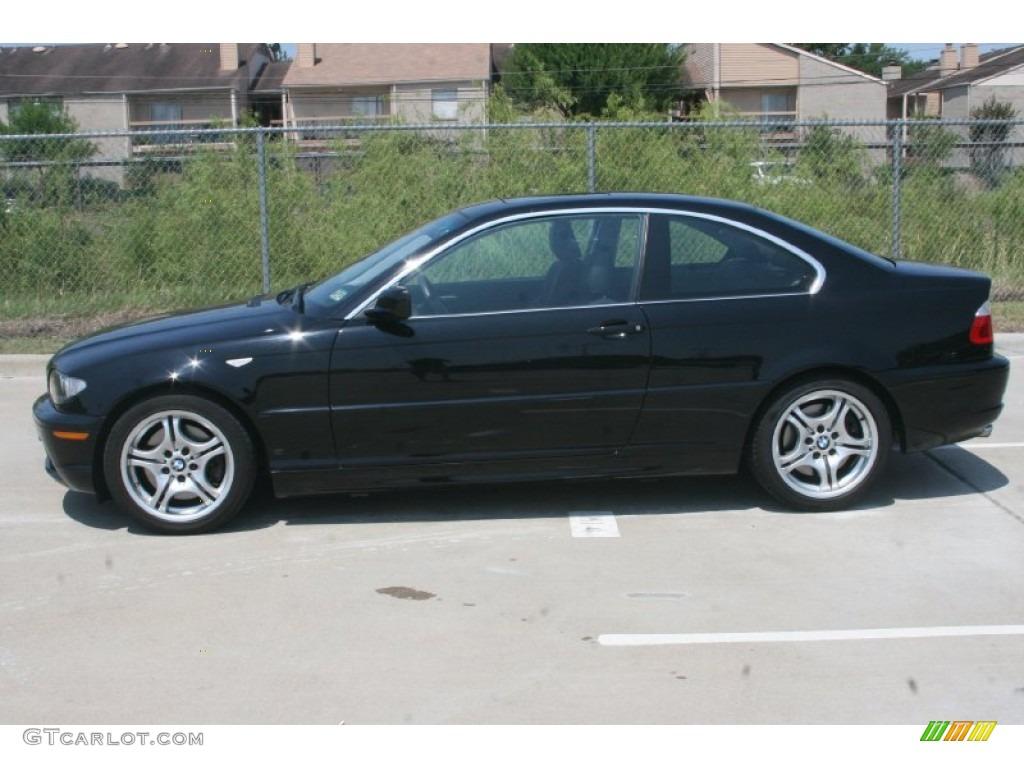 Bmw 2005 Black Jet Black 2005 BMW 3 S...