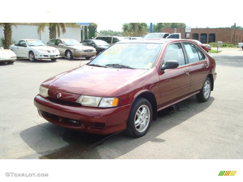 1999 aztec red nissan sentra gxe #52453906 photo #7 | gtcarlot