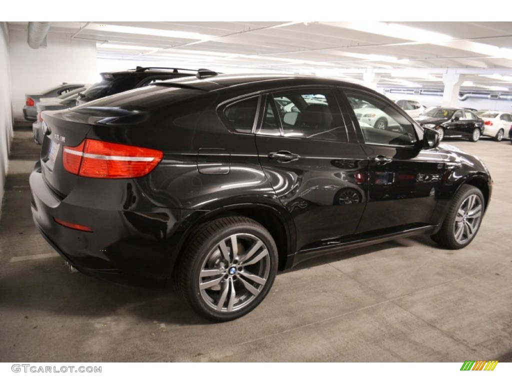 Black Sapphire Metallic 2012 Bmw X6 M Standard X6 M Model