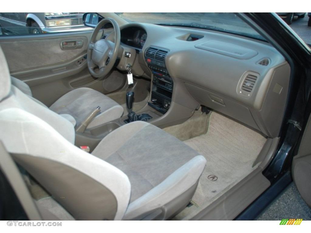 1997 Acura Integra LS Coupe Beige Dashboard Photo ...