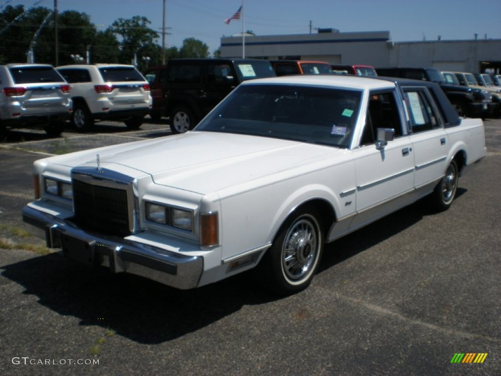 1989 oxford white lincoln town car 52453145 photo 5 car color galleries. Black Bedroom Furniture Sets. Home Design Ideas