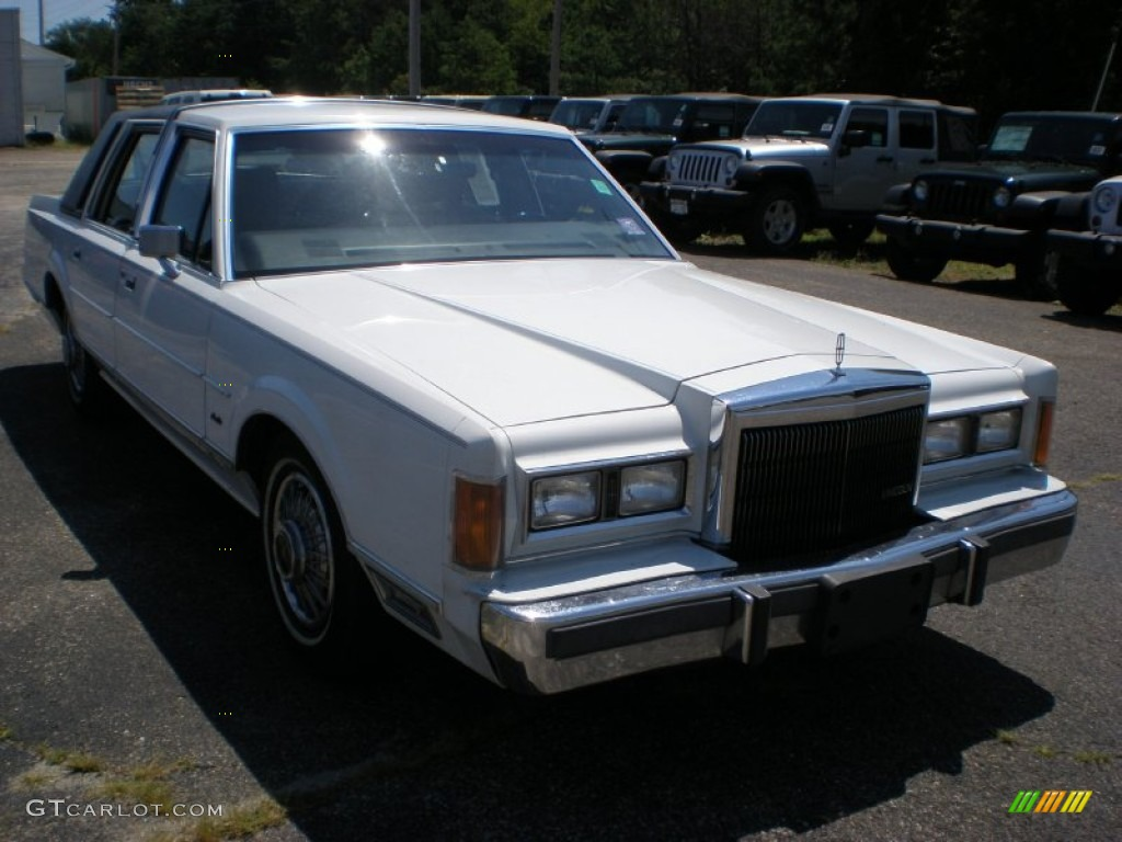1989 oxford white lincoln town car 52453145 photo 3 car color galleries. Black Bedroom Furniture Sets. Home Design Ideas