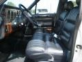 1989 Lincoln Town Car Dark Blue Interior Interior Photo