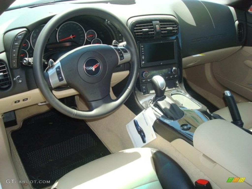 Cashmere Interior 2011 Chevrolet Corvette Grand Sport