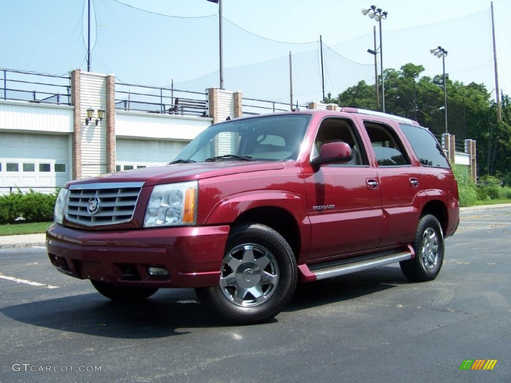2004 red e cadillac escalade awd 52454005 car color galleries. Black Bedroom Furniture Sets. Home Design Ideas