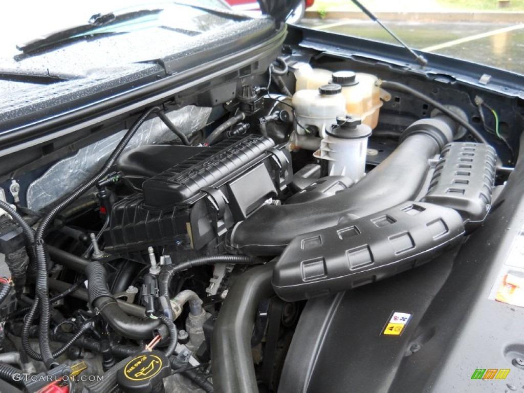 2006 ford f150 xlt supercab 5 4 liter sohc 24 valve triton v8 engine photo 52489358. Black Bedroom Furniture Sets. Home Design Ideas