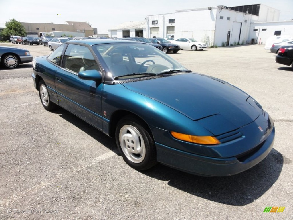 1993 s series sc2 coupe blue green tan photo 4