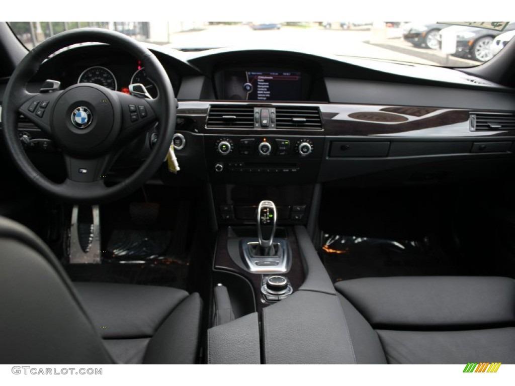 2010 BMW 5 Series 535i Sedan Black Dakota Leather Dashboard Photo 52498745