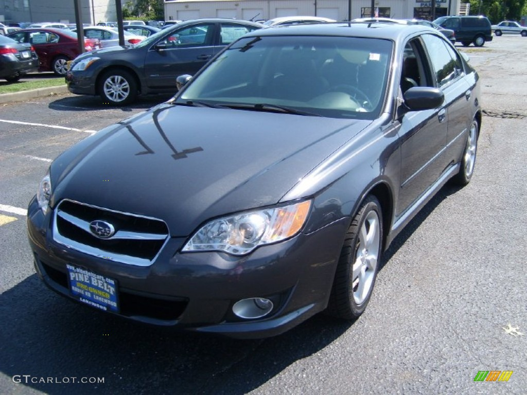 2008 diamond gray metallic subaru legacy 2.5i limited sedan