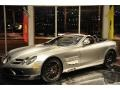 2009 SLR McLaren 722 S Roadster Crystal Antimony Gray Metallic