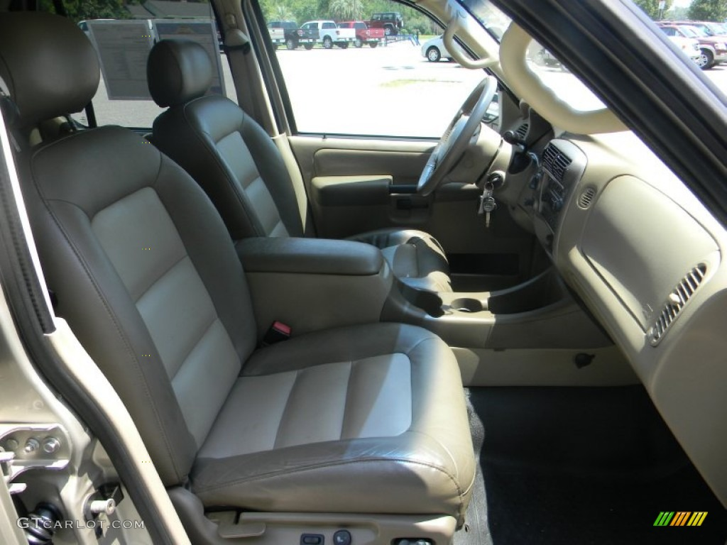 Medium Pebble Interior 2005 Ford Explorer Sport Trac Xlt 4x4 Photo 52517295