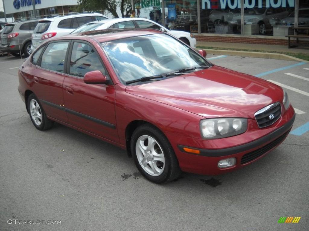 2002 chianti red hyundai elantra gt hatchback 52453554 gtcarlot com car color galleries gtcarlot com