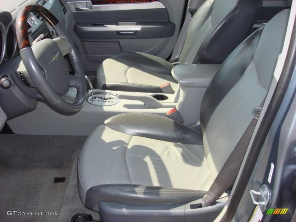 Dark Slate Gray Light Slate Gray Interior 2008 Chrysler Sebring Limited Sedan Photo 52521585