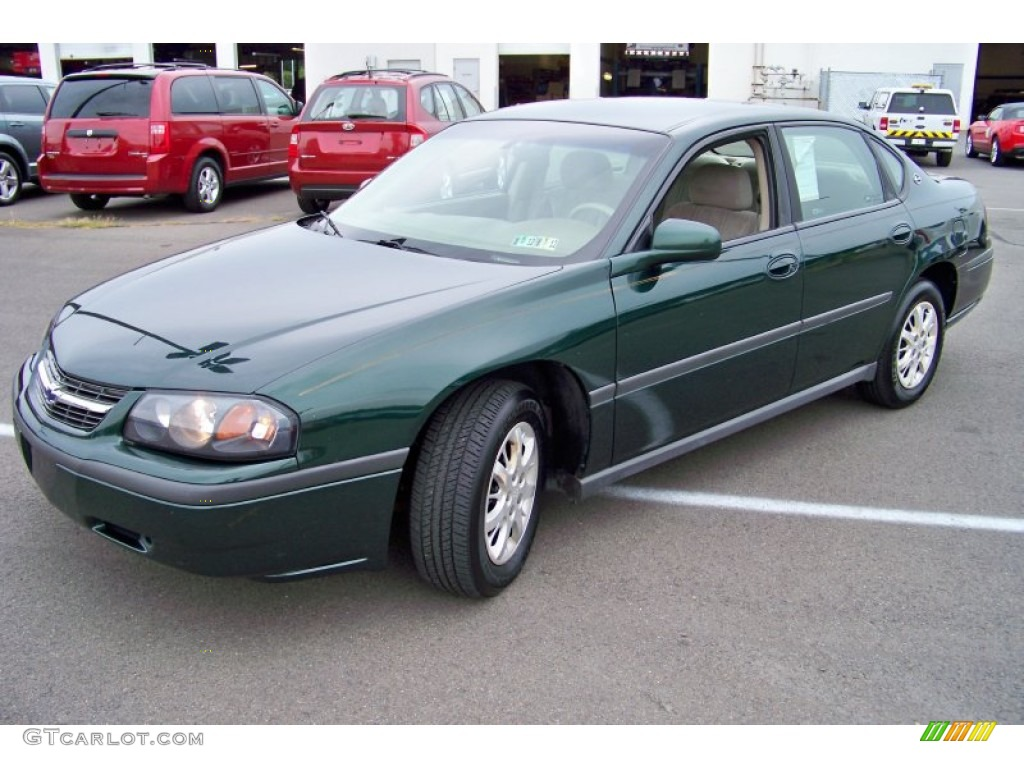 2002 medium green pearl chevrolet impala 52453286. Cars Review. Best American Auto & Cars Review