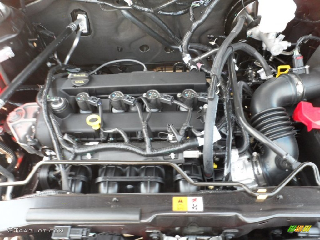 2012 Ford Escape Xlt 2 5 Liter Dohc 16 Valve Duratec 4