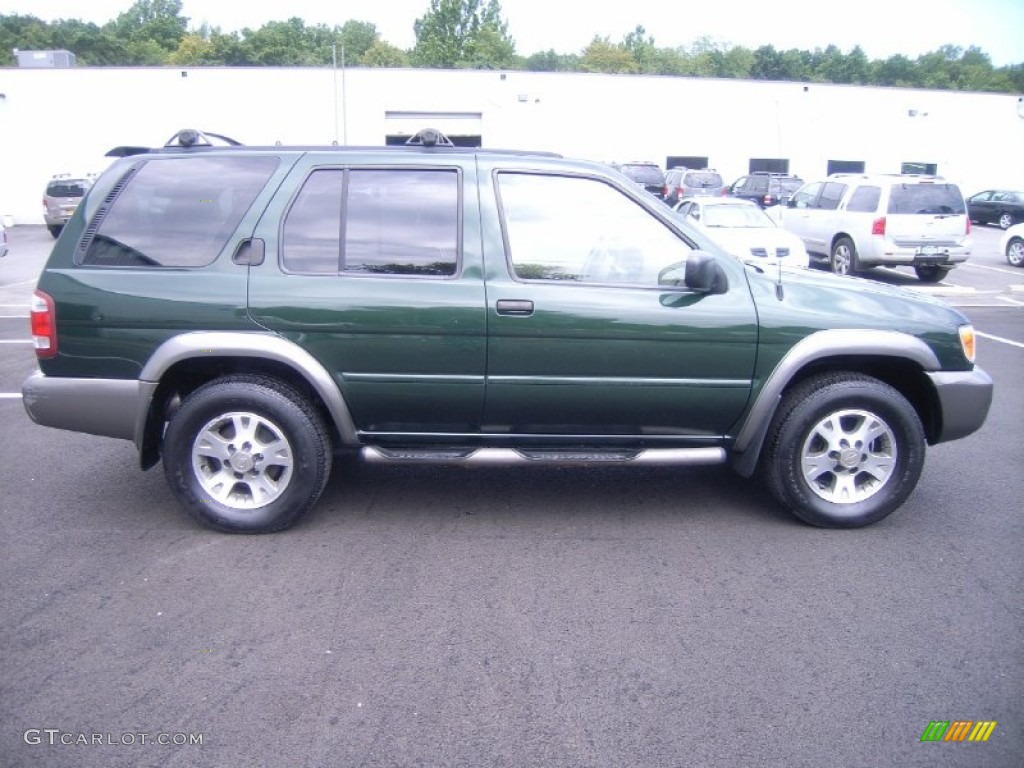 2001 sherwood green pearl nissan pathfinder se 4x4. Black Bedroom Furniture Sets. Home Design Ideas
