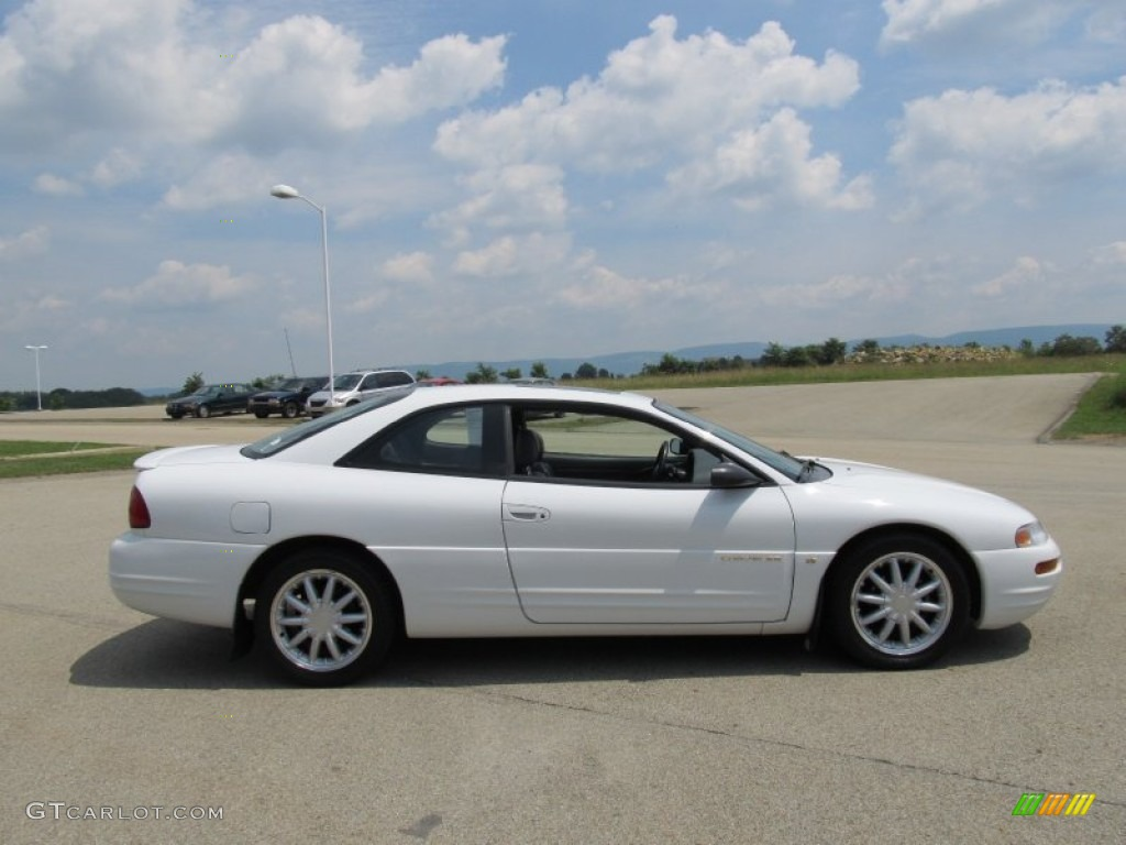 bright white 1997 chrysler sebring lxi coupe exterior. Black Bedroom Furniture Sets. Home Design Ideas