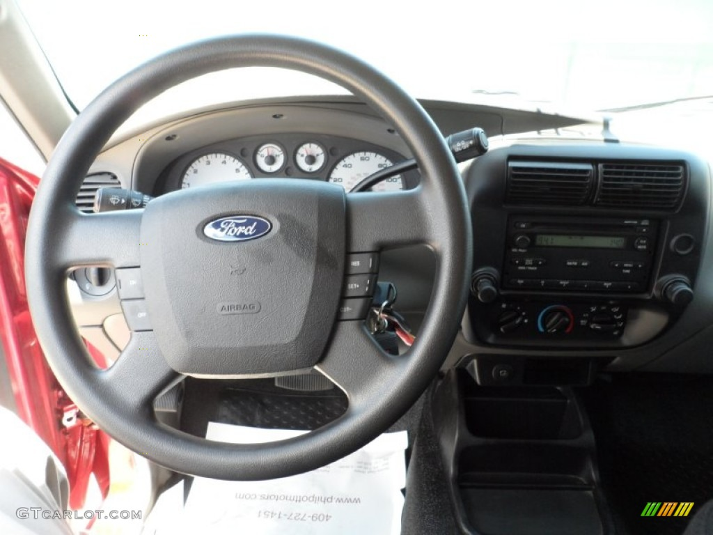 2008 ford ranger sport supercab medium dark flint steering. Black Bedroom Furniture Sets. Home Design Ideas
