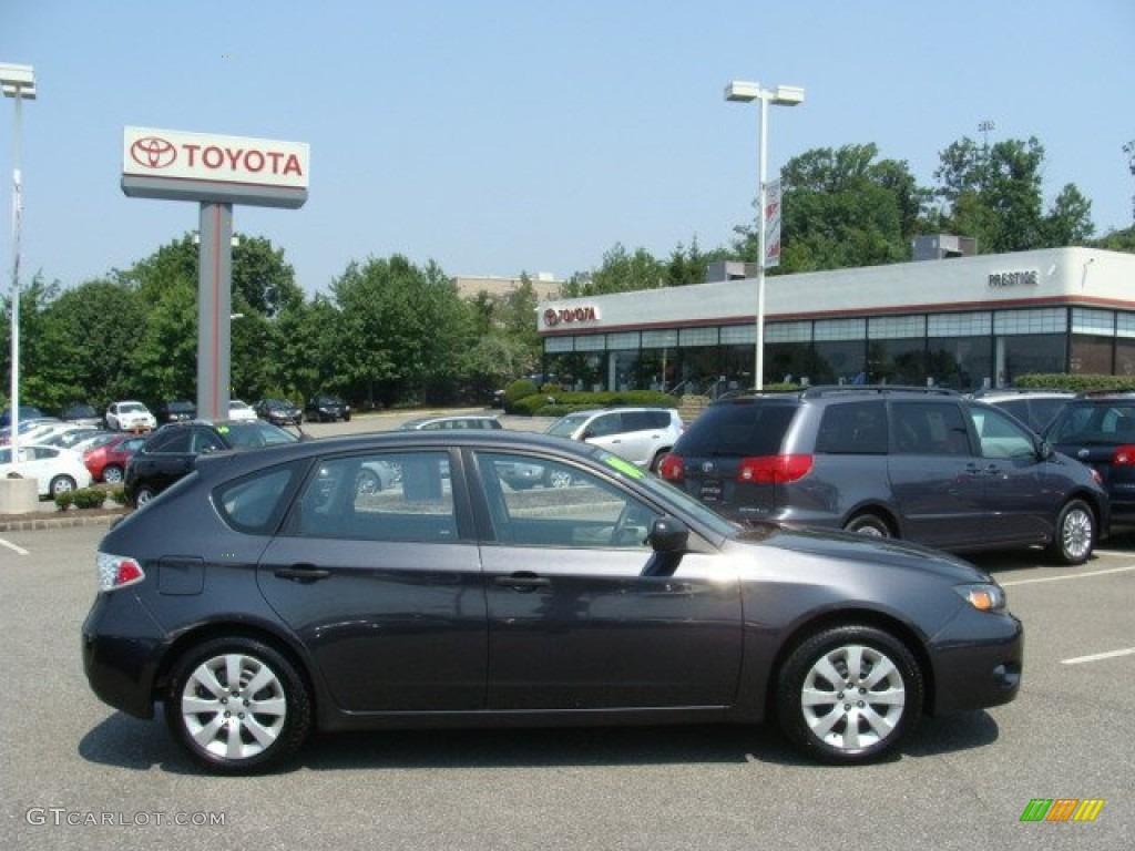 2008 Dark Gray Metallic Subaru Impreza 2 5i Wagon