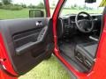 Ebony/Pewter Interior Photo for 2009 Hummer H3 #52546704