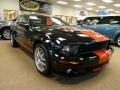 2007 Black Ford Mustang Shelby GT500 Coupe  photo #4