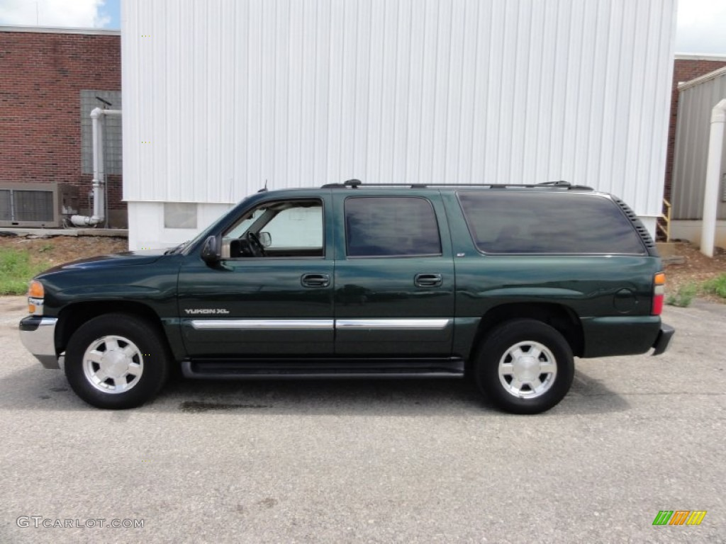 polo green metallic 2004 gmc yukon xl 1500 slt 4x4 exterior photo 52564884. Black Bedroom Furniture Sets. Home Design Ideas