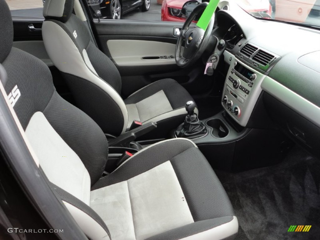 ebony gray ultralux interior 2009 chevrolet cobalt ss. Black Bedroom Furniture Sets. Home Design Ideas