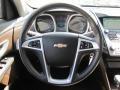Jet Black/Brownstone Steering Wheel Photo for 2010 Chevrolet Equinox #52580669