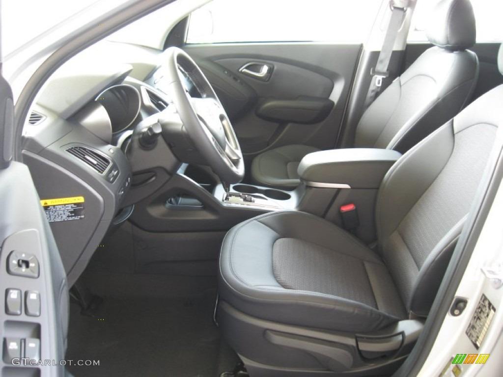 Black Interior 2012 Hyundai Tucson Gls Photo 52584164