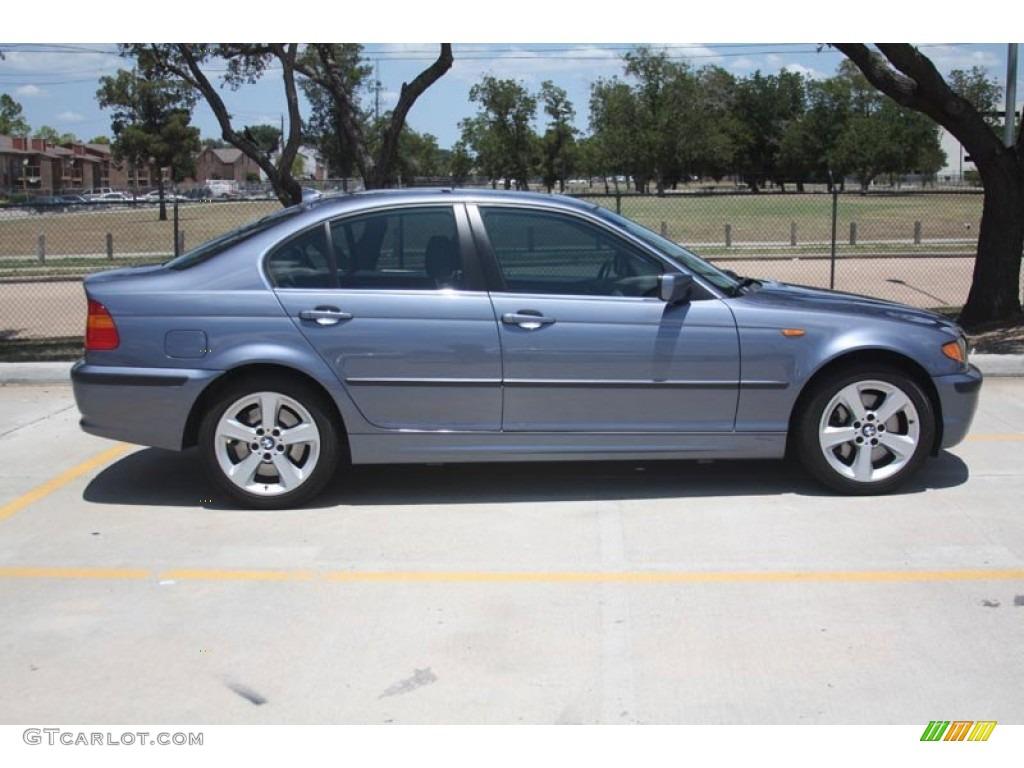 Steel blue metallic 2005 bmw 3 series 330xi sedan exterior photo 52589633