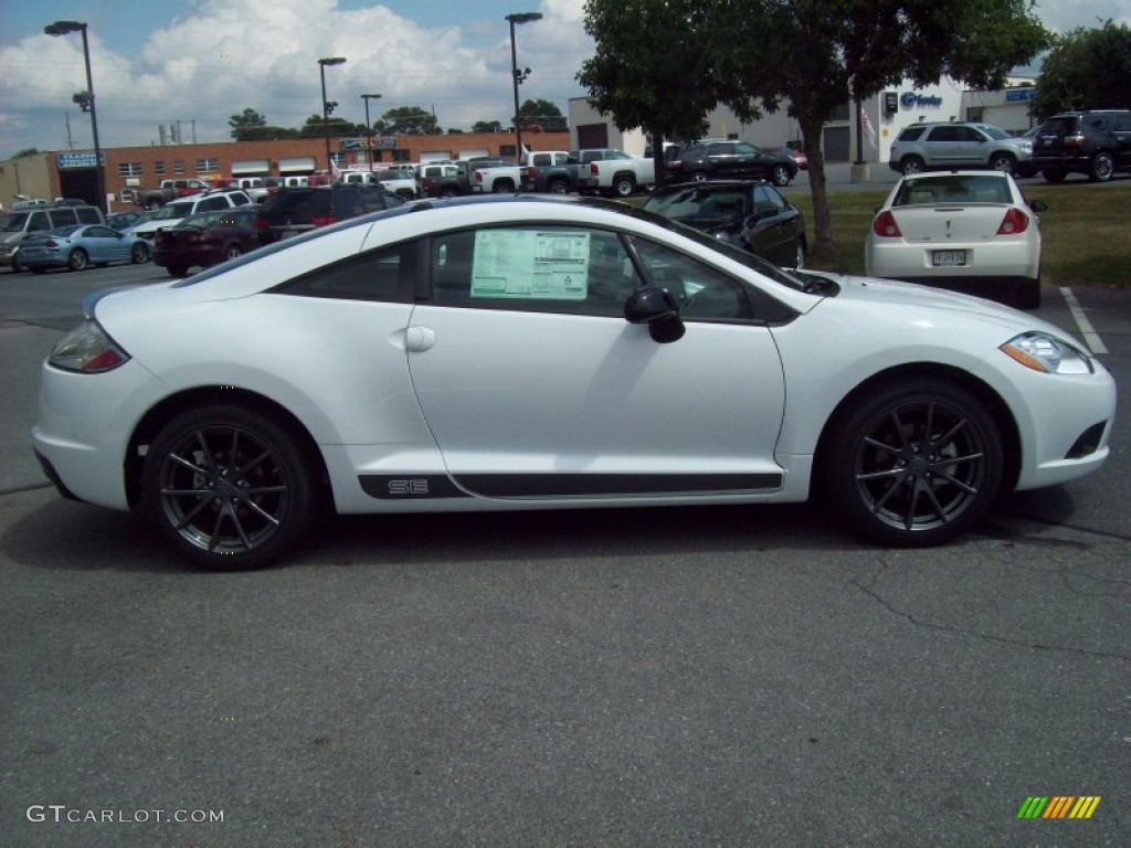 white 2012 mitsubishi eclipse se autos post. Black Bedroom Furniture Sets. Home Design Ideas