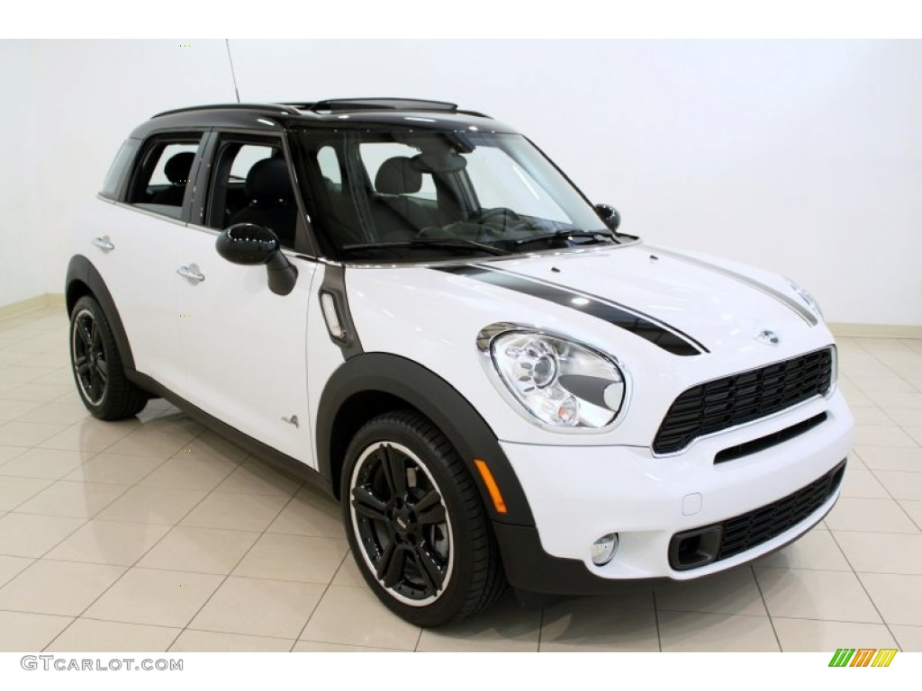 Mini Cooper Ice Blue >> 2011 Light White Mini Cooper S Countryman All4 AWD ...