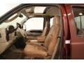 Castano Brown Leather 2005 Ford F250 Super Duty Interiors