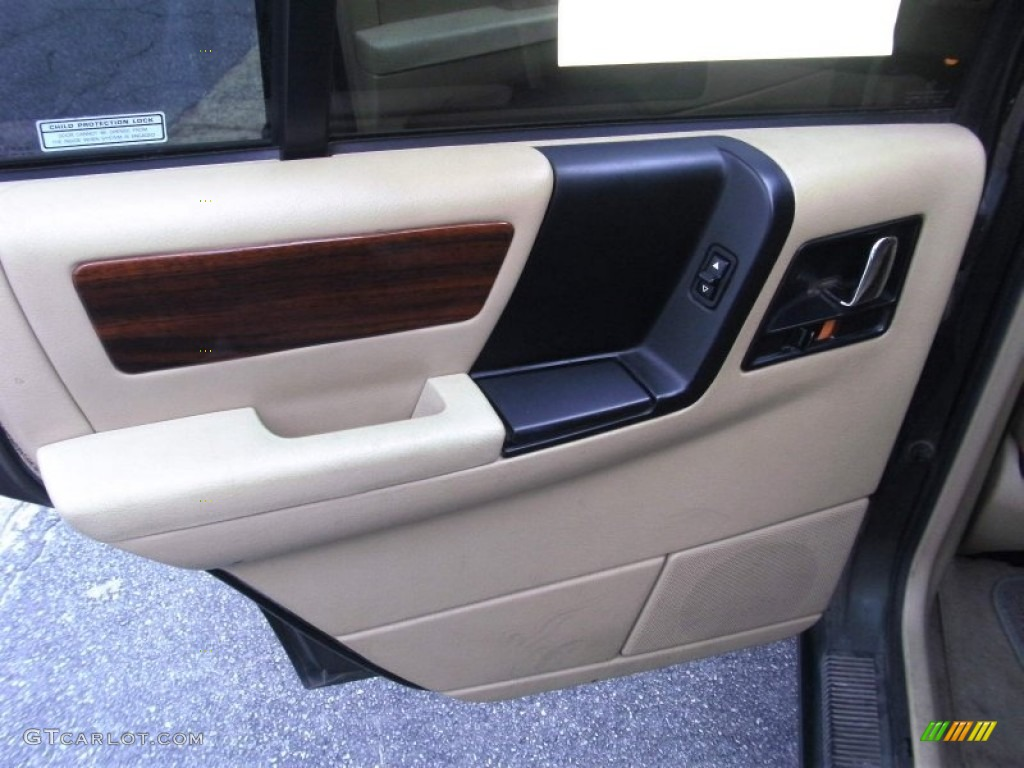 1995 Jeep Grand Cherokee Limited Tan Door Panel Photo 52612991