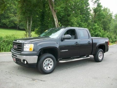2009 gmc sierra 1500 work truck crew cab 4x4 data info and specs. Black Bedroom Furniture Sets. Home Design Ideas