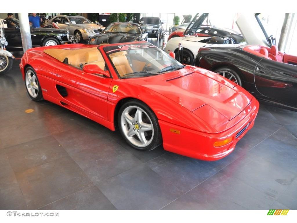 Red 1996 Ferrari F355 Spider Exterior Photo 52626905