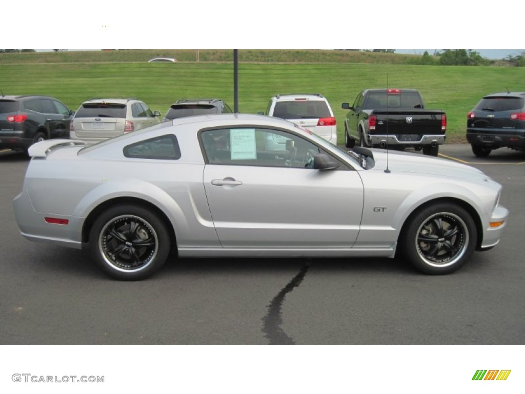 Satin silver metallic 2005 ford mustang gt premium coupe exterior photo 52634705 gtcarlot com