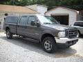 2004 Dark Shadow Grey Metallic Ford F250 Super Duty XL Crew Cab 4x4  photo #5