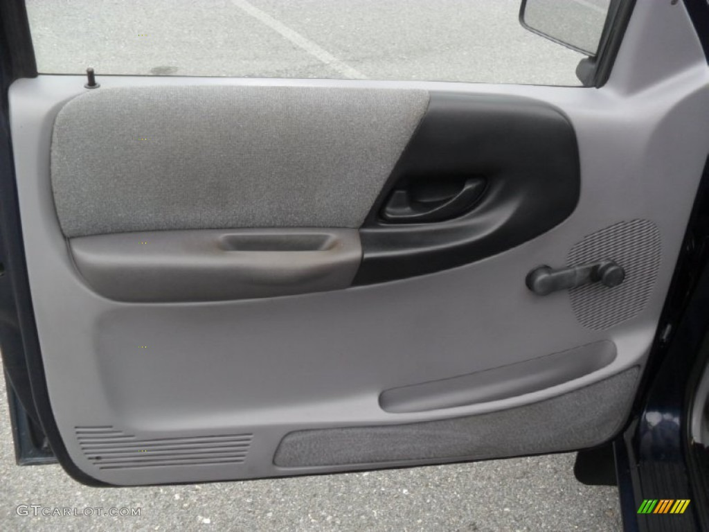 2000 Ford Ranger Xlt >> 1994 Ford Ranger XLT Regular Cab Grey Door Panel Photo #52637675 | GTCarLot.com
