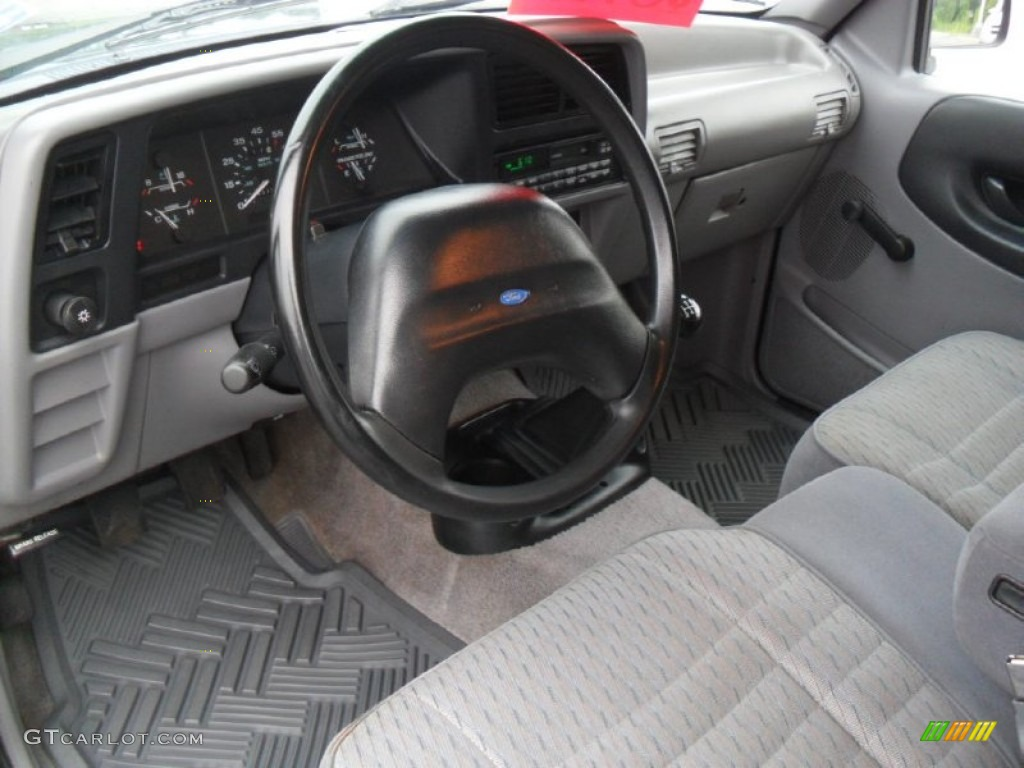 grey interior 1994 ford ranger xlt regular cab photo. Black Bedroom Furniture Sets. Home Design Ideas