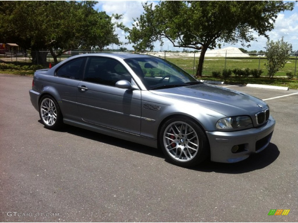 silver grey metallic 2004 bmw m3 coupe exterior photo. Black Bedroom Furniture Sets. Home Design Ideas
