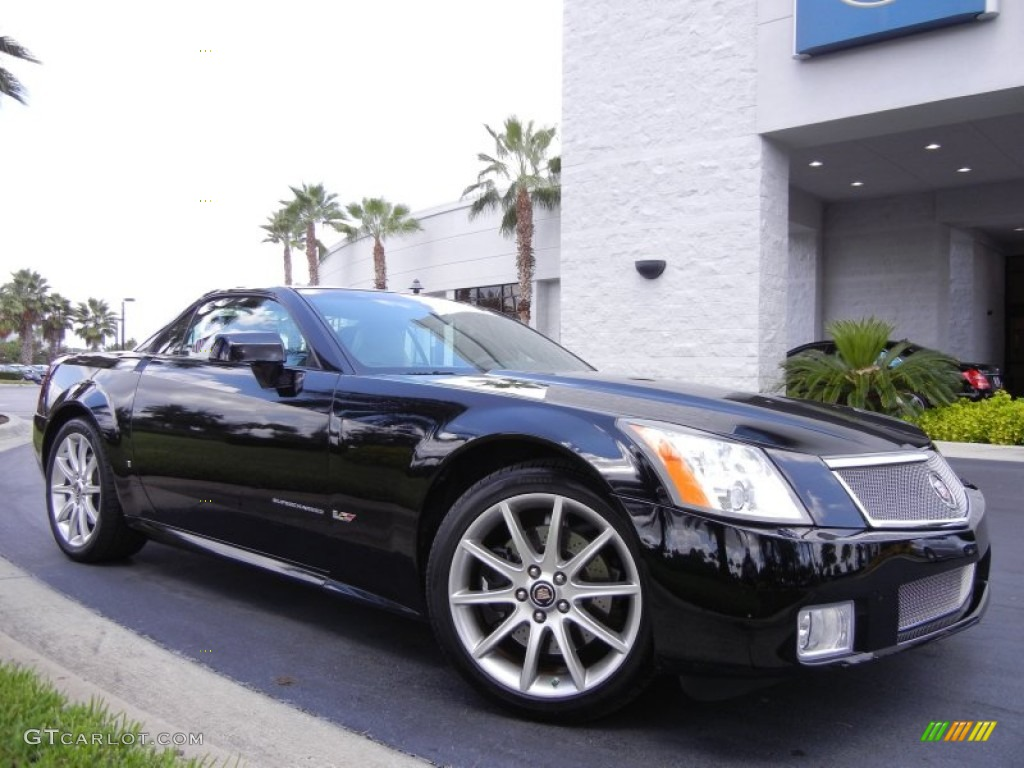 black raven 2006 cadillac xlr v series roadster exterior. Black Bedroom Furniture Sets. Home Design Ideas