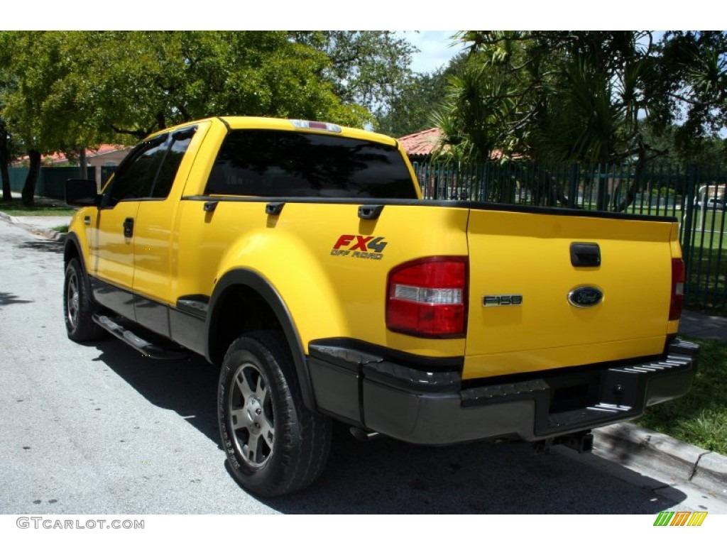 blazing yellow  ford  fx supercab  exterior photo  gtcarlotcom