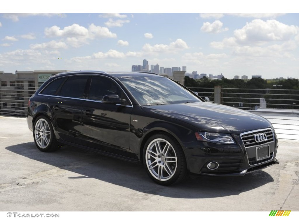 brilliant black 2011 audi a4 2 0t quattro avant exterior. Black Bedroom Furniture Sets. Home Design Ideas