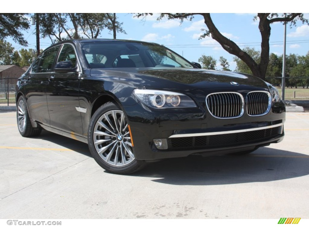 2012 black sapphire metallic bmw 7 series 740li sedan. Black Bedroom Furniture Sets. Home Design Ideas